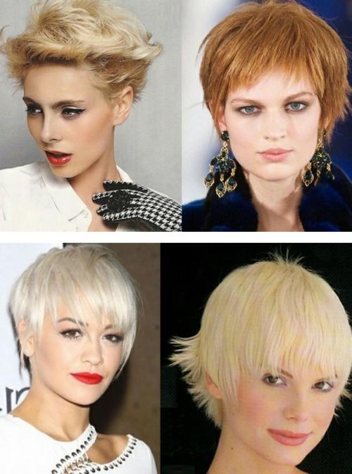стрижки на короткие волосы тенденции на 2016 для женщин