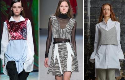 Необычная, нестандартная модная женская одежда сезона Осень-Зима ... ee1038c6542