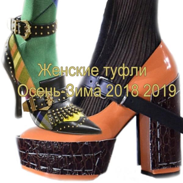 c3007b8ff Модные женские туфли 2018-2019 на осень и зиму