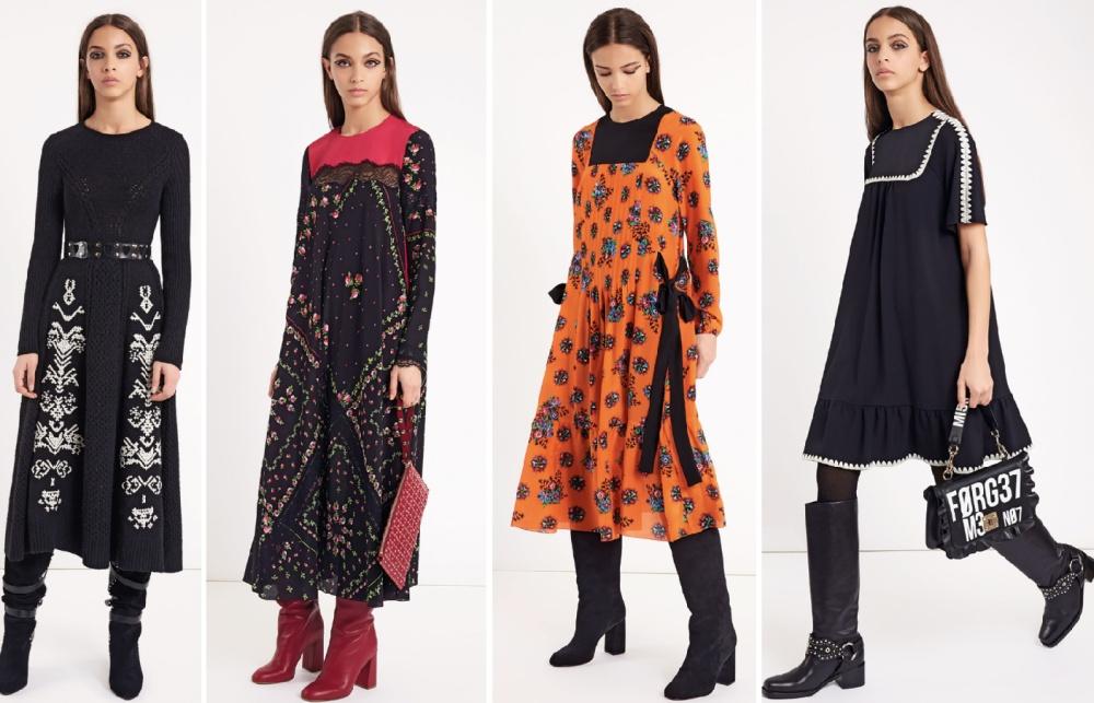 927425c56df Деловые офисные платья Осень-Зима 2018-2019 - модные новинки