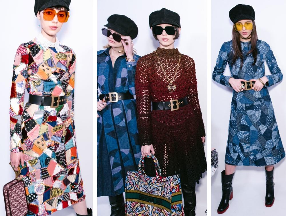 768241a69b0 Красивые деловые офисные платья на осень-зиму 2018-2019 от модного дома  Christian Dior