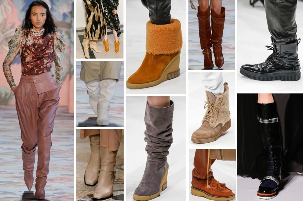 ffe279193165 Модная женская обувь Осень-Зима 2018 2019 - главные тенденции, фото
