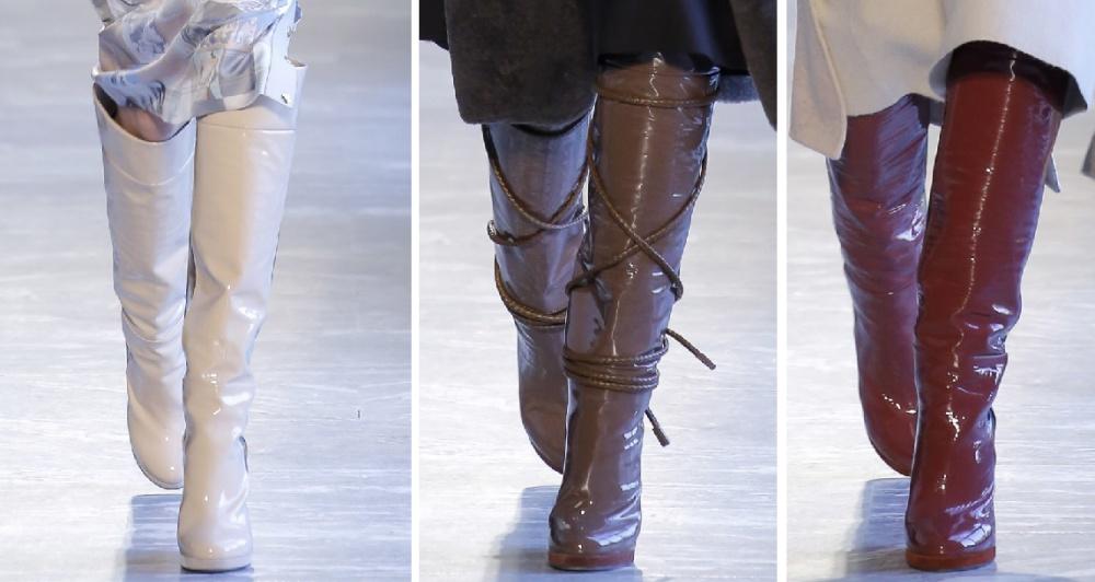 3a02a020173e Женские сапоги осень 2018, ботильоны, ботинки - фото модных трендов ...