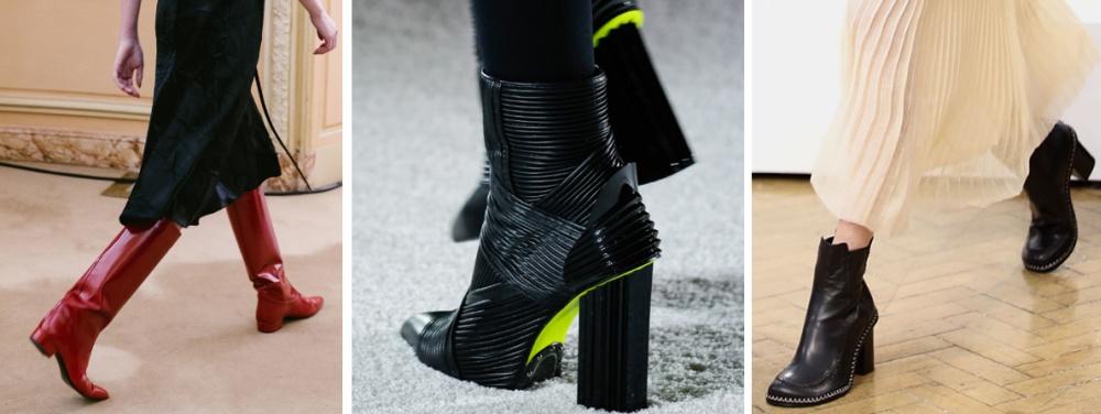 fd0c40f48 Модная женская обувь Осень-Зима 2018/2019 - главные тенденции, фото