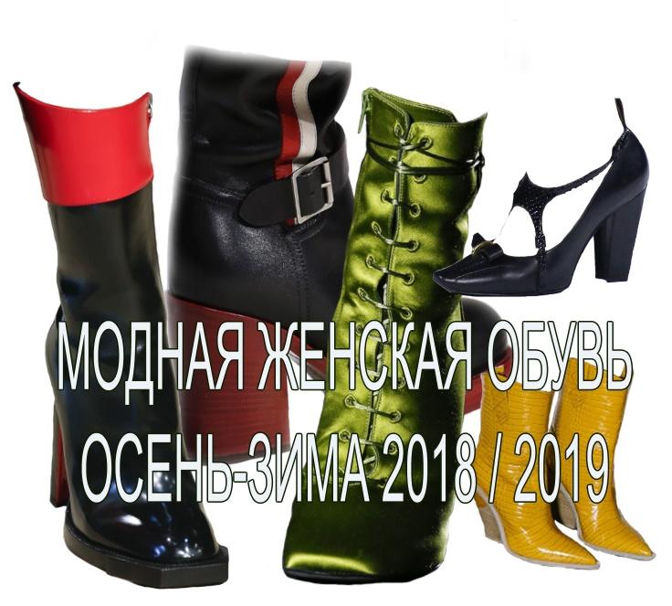 704e20784ea Модная женская обувь Осень-Зима 2018 2019 - главные тенденции