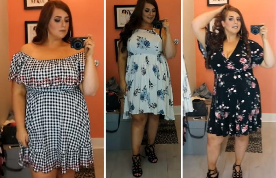 654bc437577 Модные летние платья для полных  фото . Лето  платья и сарафаны для ...