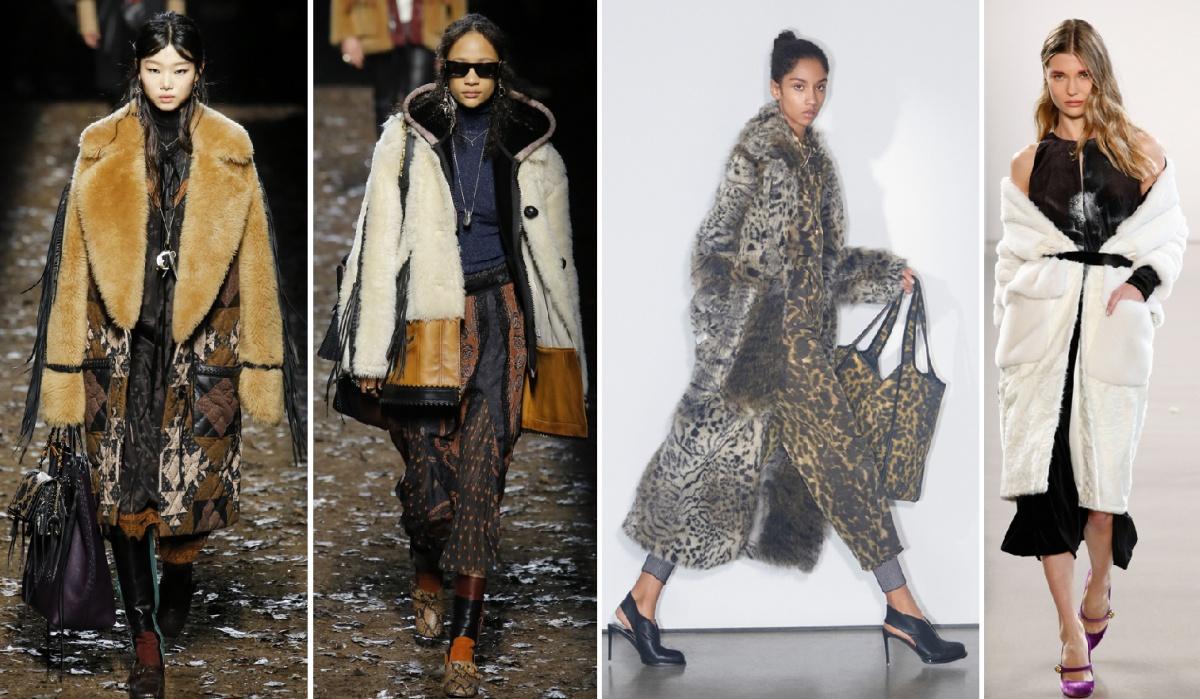 3bc94fee28e примеры зимних пальто от мировых дизайнеров моды осень-зима 2018-2019