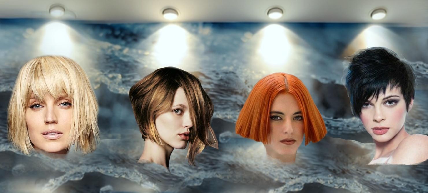 dc3ccabc0ac7 Галерея фотографий последних новинок самых модных женских стрижек для  коротких, средних и длинных волос