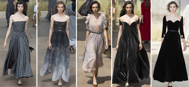 6ed3ade19f7 Вечерние платья на осень 2018 от Christian Dior