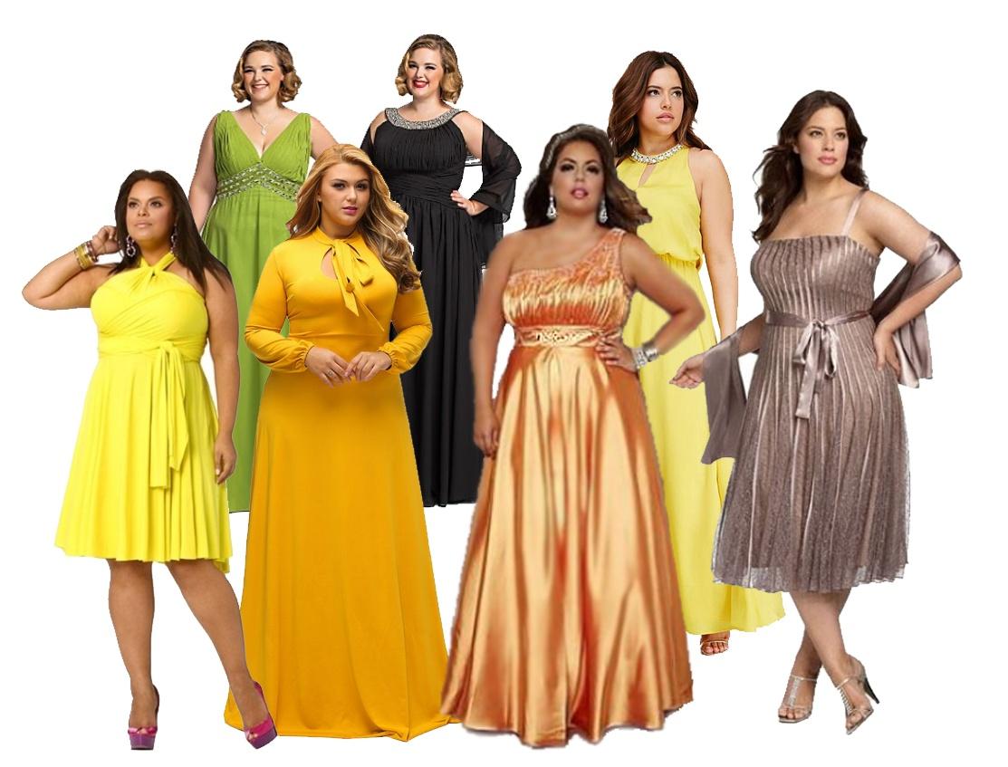 Нарядные платья 2017 для пожилых и полных женщин  84 фото