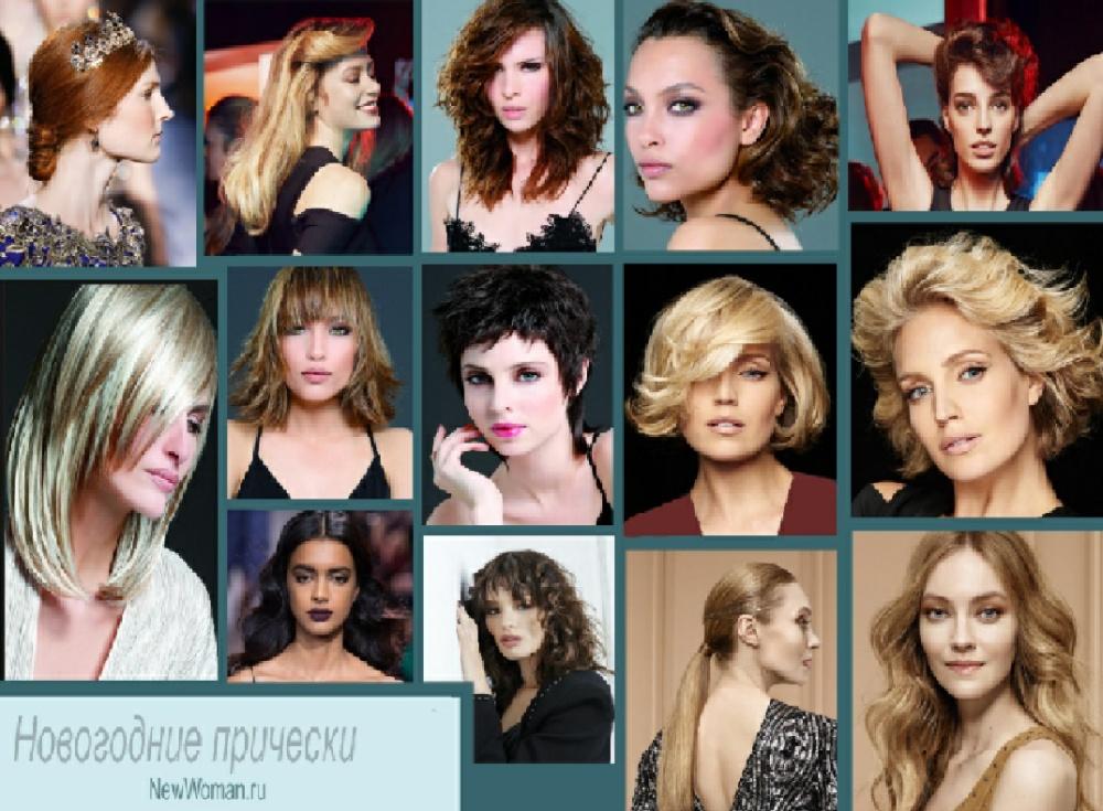 Прически на средние волосы (50 фото)
