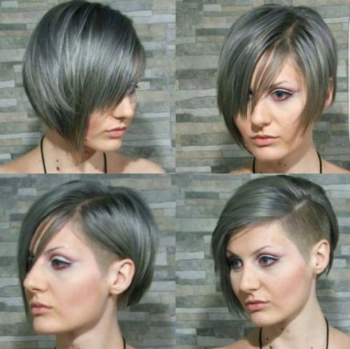 Стрижка пиксибоб на средние волосы