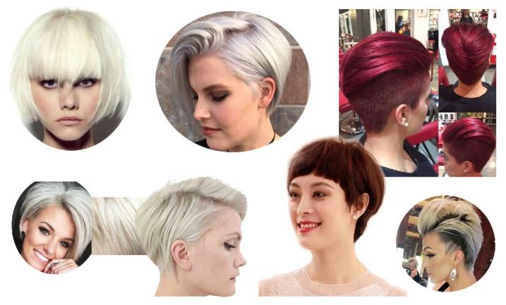 Окраска коротких волос 2017 фото новинки