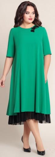 e8a4357e635 Платья для полных. Модели вечерних платьев для полных женщин и ...