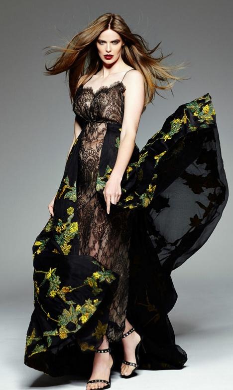 bbebb17d414 Нарядные платья для полных девушек и женщин - фото