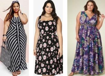 d79a9cfb713 Модные летние платья для полных  фото . Лето  платья и сарафаны для ...