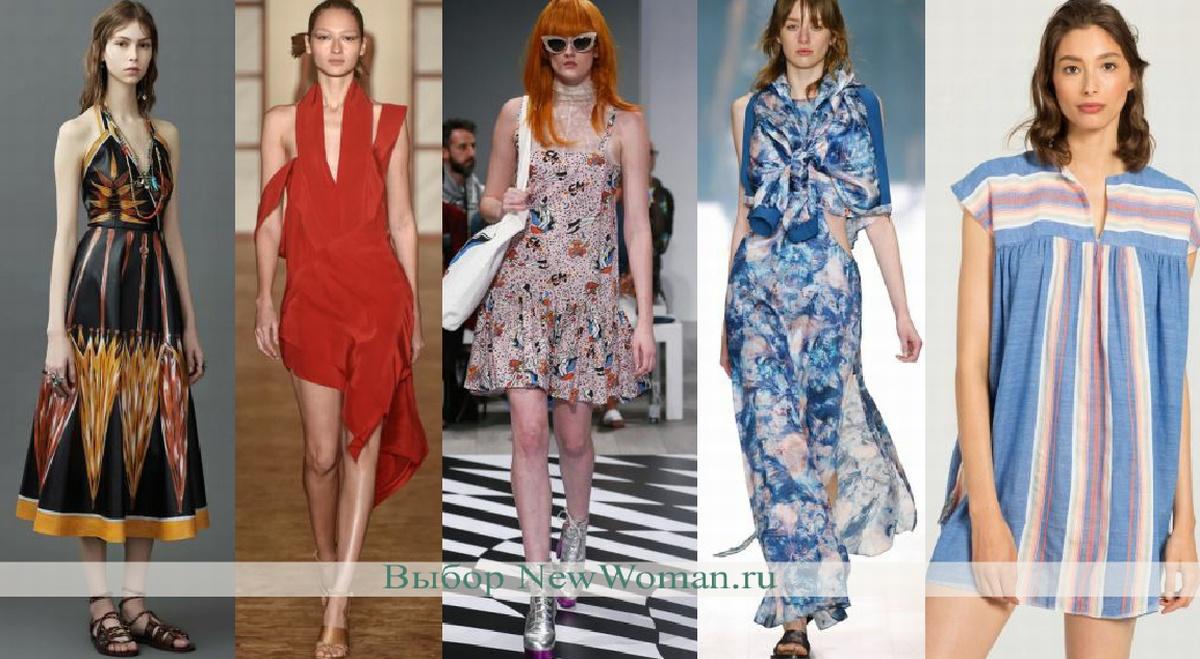 621bd54cbe3 Модные платья на лето - фото ...