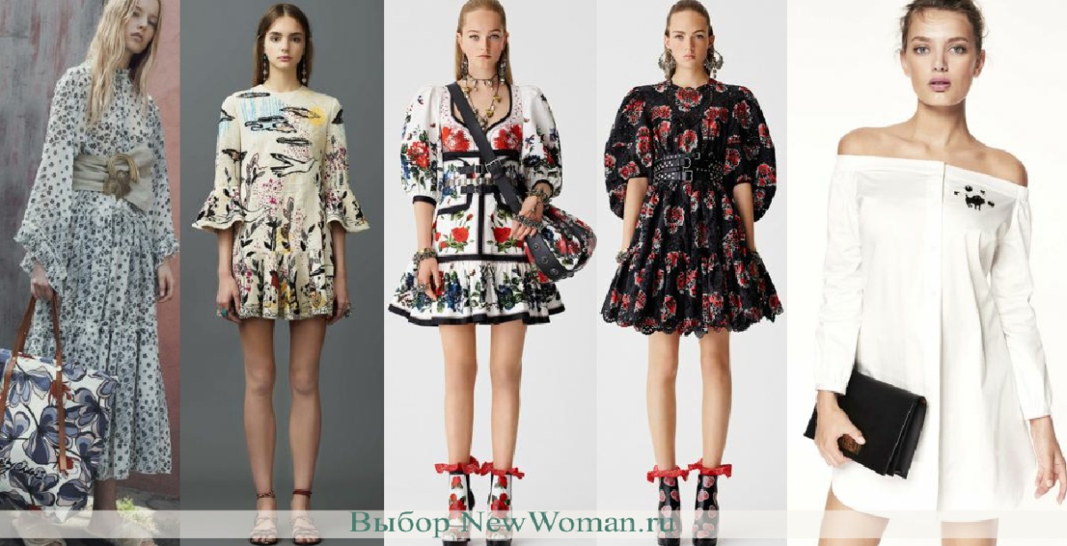 fd6817c7875 модные весенние платья платья на весну