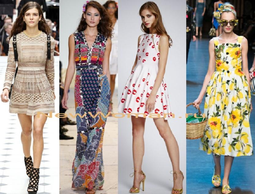 fd05b1ab142b9cb Модные летние платья. Фото
