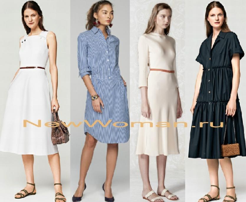 1834bbd19df4b33 Модные летние платья. Фото