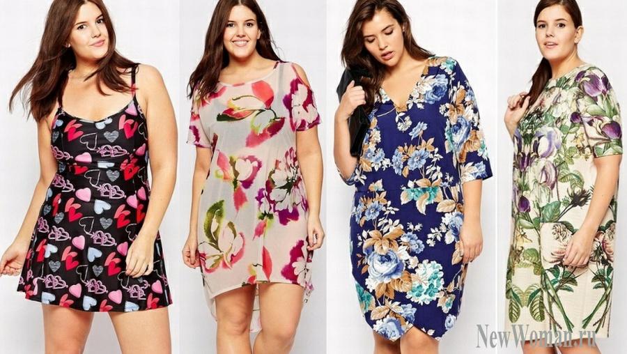 Длинные летние платья для полных 2016