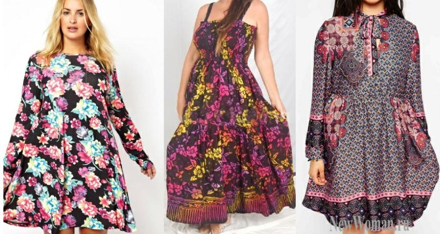Цветные платья для женщин фото