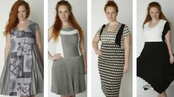 Фасоны офисных платьев на полных