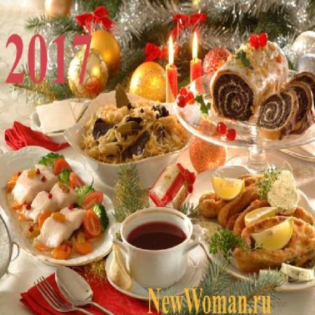 Пошаговой украшение новогоднего с рецептами стола инструкцией 2017