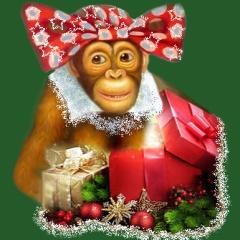 новогодняя сказка для взрослых.ру смешные год обезьяны
