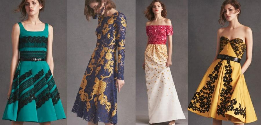 Каталог платьев весна