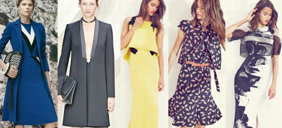 Модные женские платья и костюмы