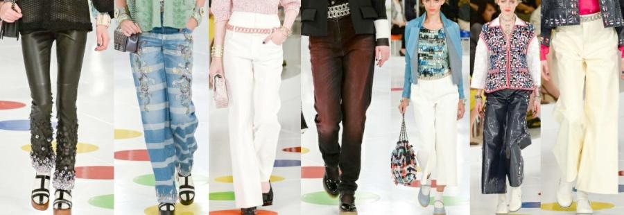 6ca47f1cee38 Модные брюки 2016 из курортной коллекции Chanel