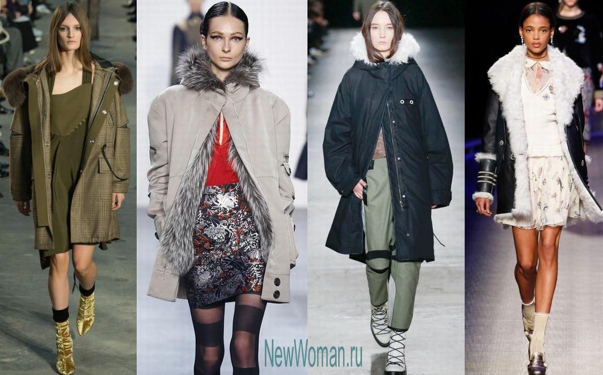 ae4fa2dc228 Модные зимние куртки для женщин зимняя женская одежда с модных показов -  куртки