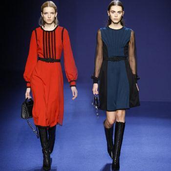платья 2016 осень-зима фото новинки