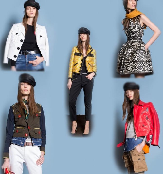 Стильная молодежная коллекция весенней одежды 2018 от итальянского бренда  Дискуэад (DSquared2) ed95d609807