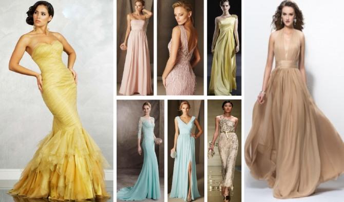 Новогоднее платье для девушек и женщин, рожденных под знаком Рыб - фото красивых платьев