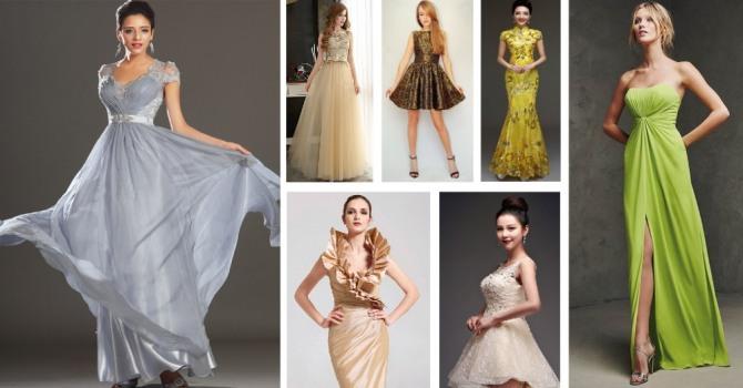 новогоднее платье для женщин и девушек знака Водолей - фото новогодних нарядов по гороскопу