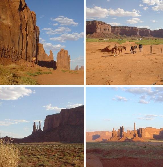 долина монументов в парке племени навахо