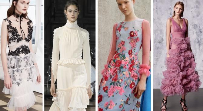4d4d93ca20e Модные вечерние платья 2018 - новинки