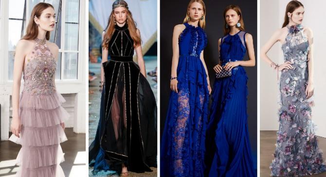 4619d5269ad1d00 Модные вечерние платья 2018 - новинки, тенденции, фото