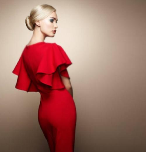 Модные вечерние платья 2018 - новинки, тенденции, фото 8de91340367
