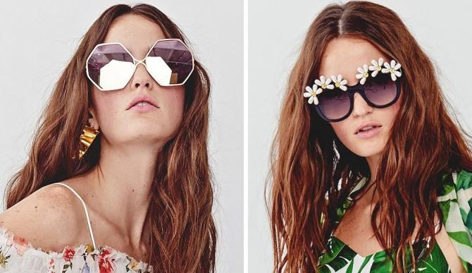 d50a85fe9d2e Модные солнцезащитные очки Весна-Лето 2018 - фото новинок с модных ...