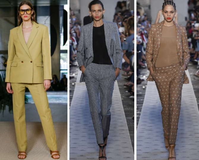 Костюмы женские деловые с брюками