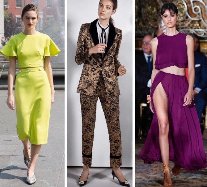 Модный весенний костюм женский