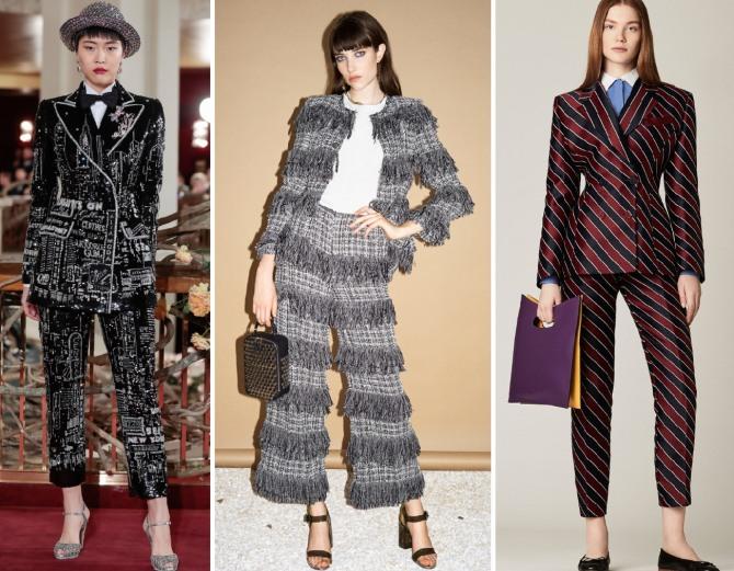 c7f656d7b82df57 Женский деловой костюм 2019 - какие костюмы самые модные в 2019 году ...