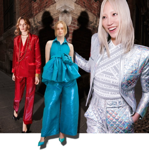 2658cf8c03f Нарядный женский костюм для торжества 2019 - фото модных женских вечерних  костюмов с последних показов
