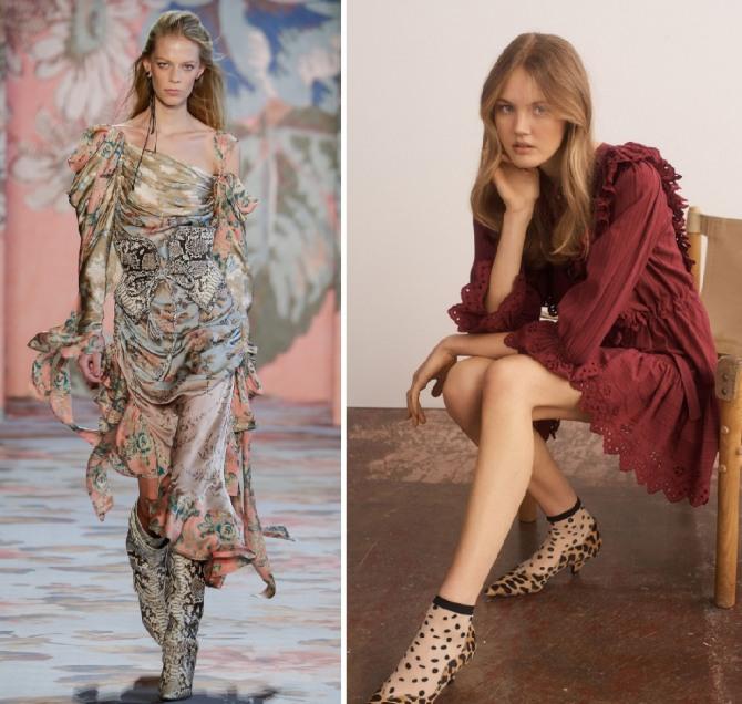 платья 209 года на осенний праздник - с оборками и кружевом - Zimmermann,La Vie Rebecca Taylor