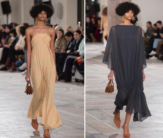 модные летние платья 2019 из шифона