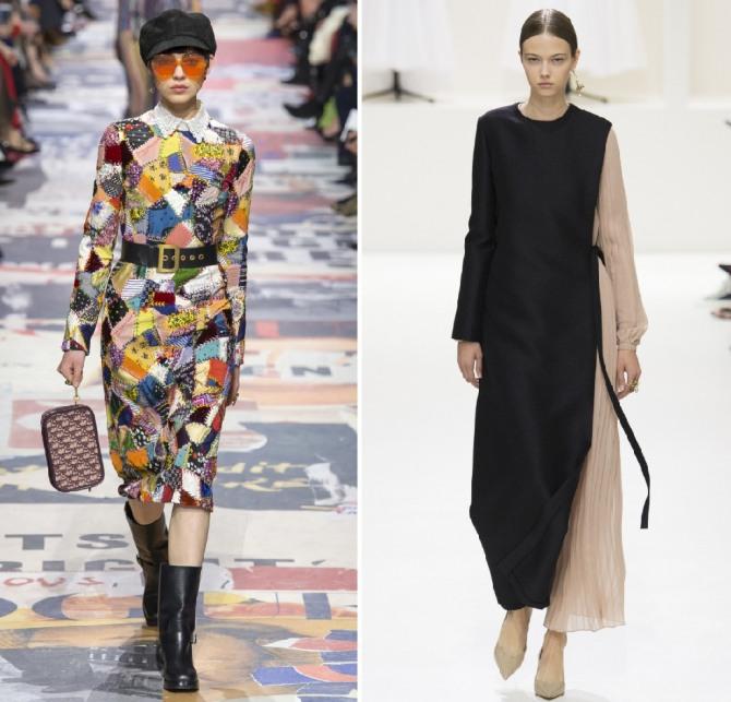платья Christian Dior