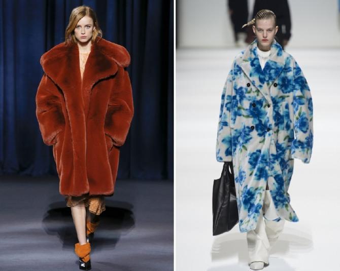 Модные меховые пальто 2019 рекомендации